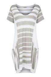 e905313b7dbb Dress w stripes. Kjole i mønsterstrib.